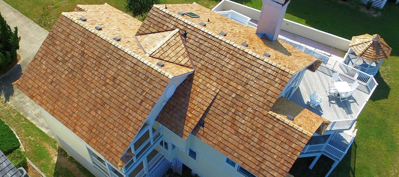 Outer Banks Cedar Shake Roof   Gallop Roofing & Remodeling, Inc.